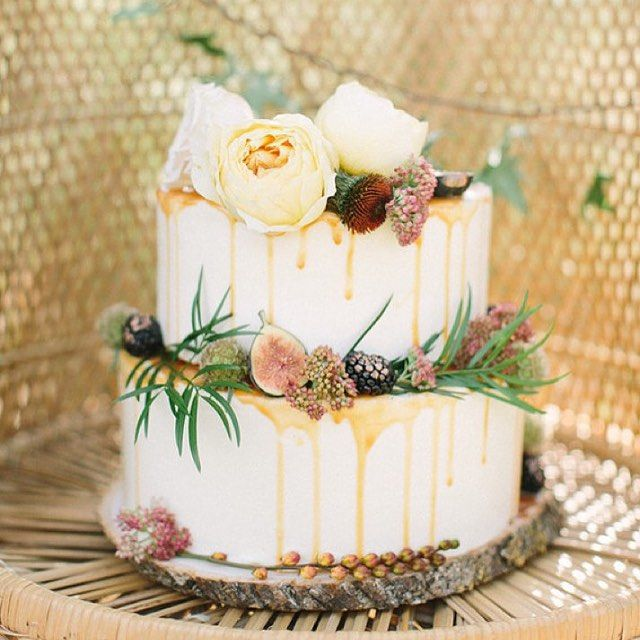 53 Fall Wedding Cakes We Re Obsessed With: Just In Case You Missed This #cake In Last Week's