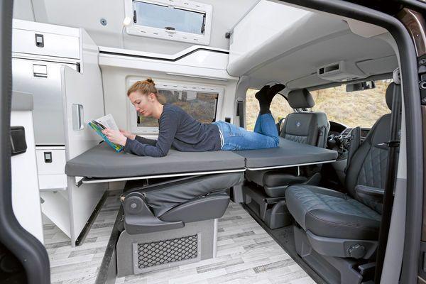Promobil Custom Camper Vans Ford Transit Camper Camper Van