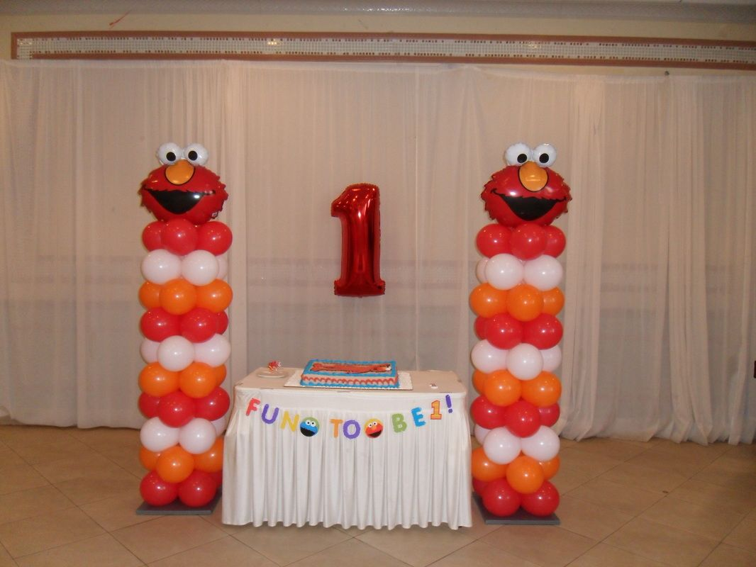 baby shower ideas for girlwith colors pink lilac and brown ELMO