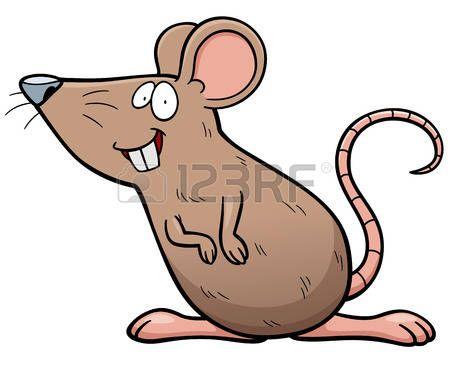 Rata Caricatura Ilustración Vectorial De Rata De Dibujos