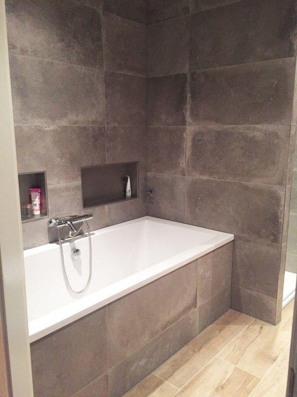 Badkamer Keramisch Parket & Betonlook tegels | Badkamer | Pinterest ...