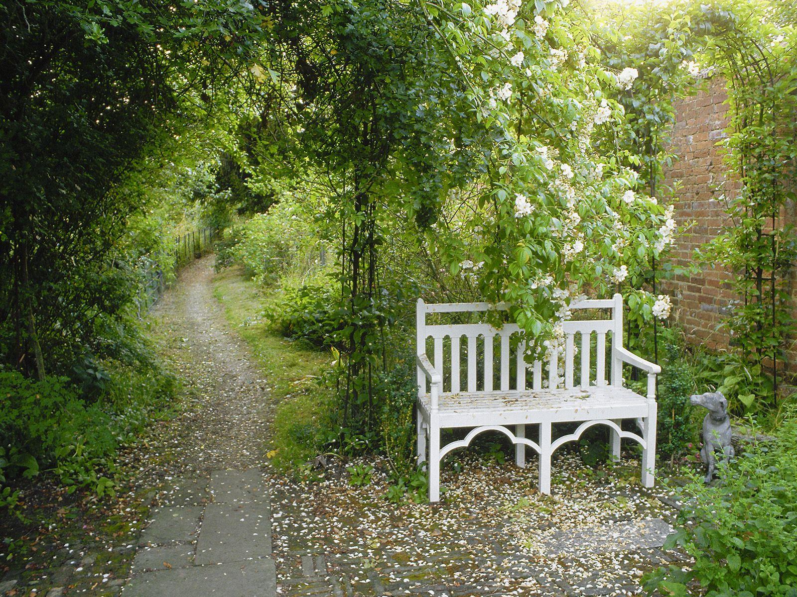 Ornamental Garden Hampshire England Jardin Anglais Jardins Patio