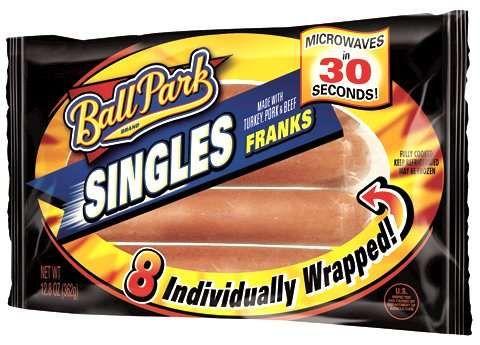 ball park singles individually