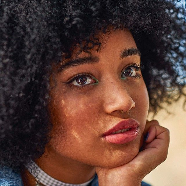 Beauty tips from backstage at Amandla Stenberg's ASOS Magazine cover shoot