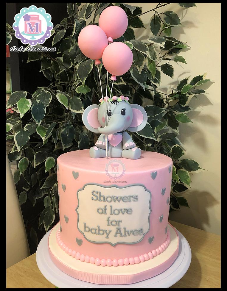 Elephant Baby Shower Sheet Cake : elephant, shower, sheet, #elephant, #baby, #shower, #cake, #pinkelephantbabyshowercake, Shower, Cake,, Cakes, Girl,, Elephant