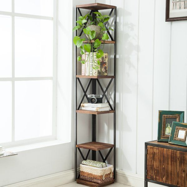 Dining Room Corner Decorating Ideas Space Saving Solutions: Gurley Corner Bookcase In 2020