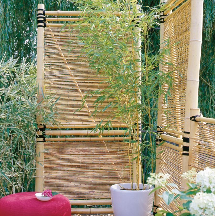 ▷ Sichtschutz für Garten und Balkon - So geht's