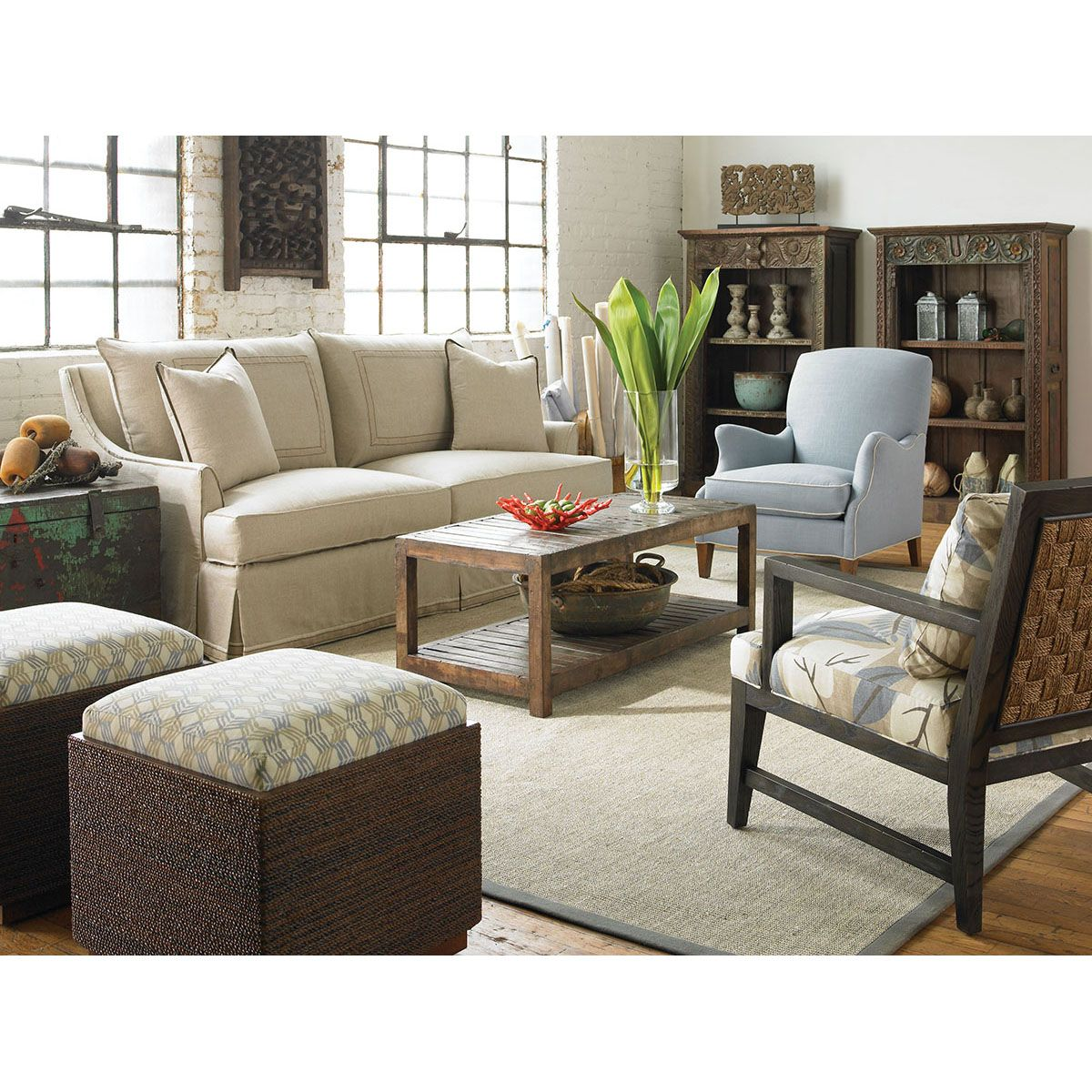Window ideas for family room  vanguard furniture lombardi sofa vs  vanguad furniture  pinterest