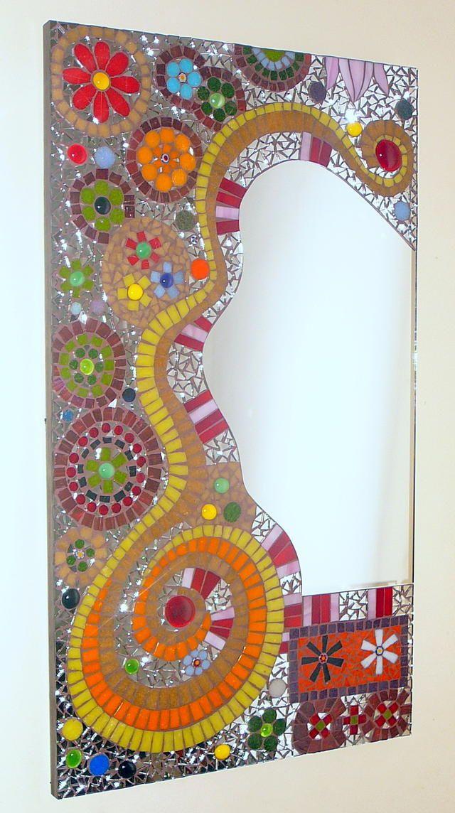 Mosaiquismo con reminisencias de los ´60.   Espejos   Pinterest ...