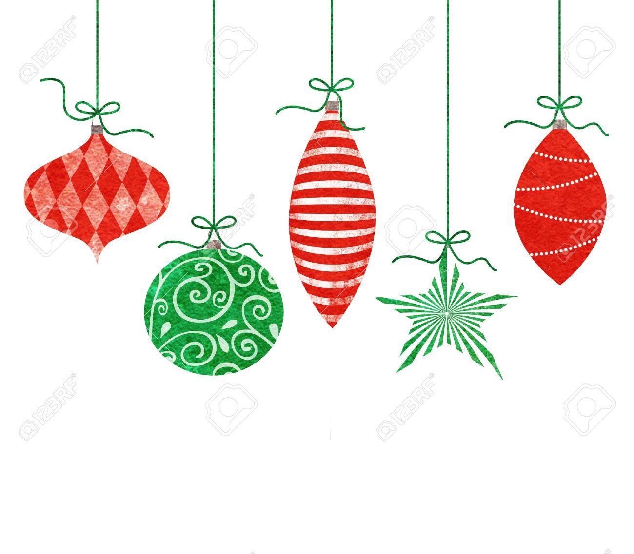 Stock Photo Whimsical christmas, Retro christmas
