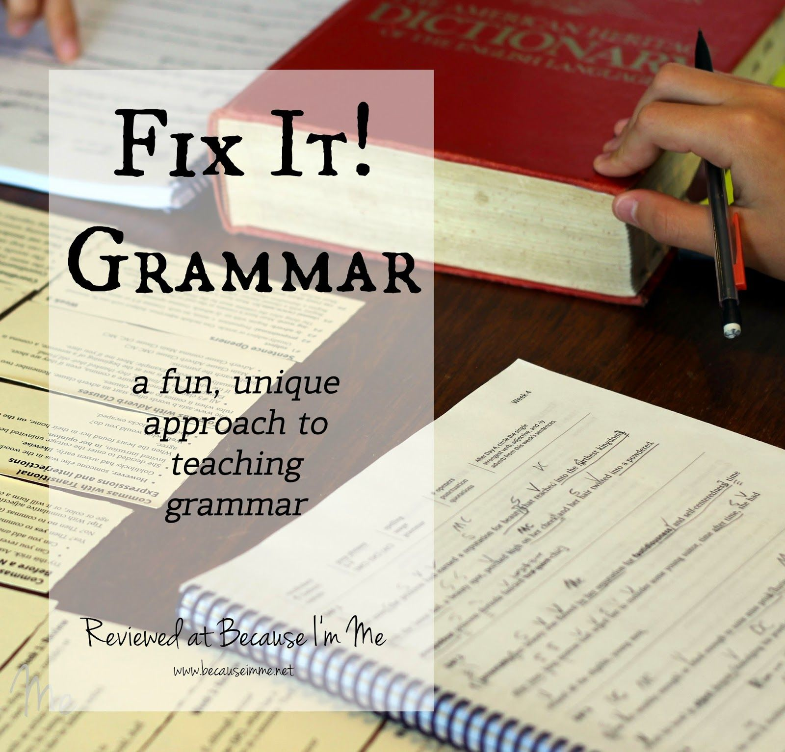 Fit It Grammar Teaches Grammar With A Real Life