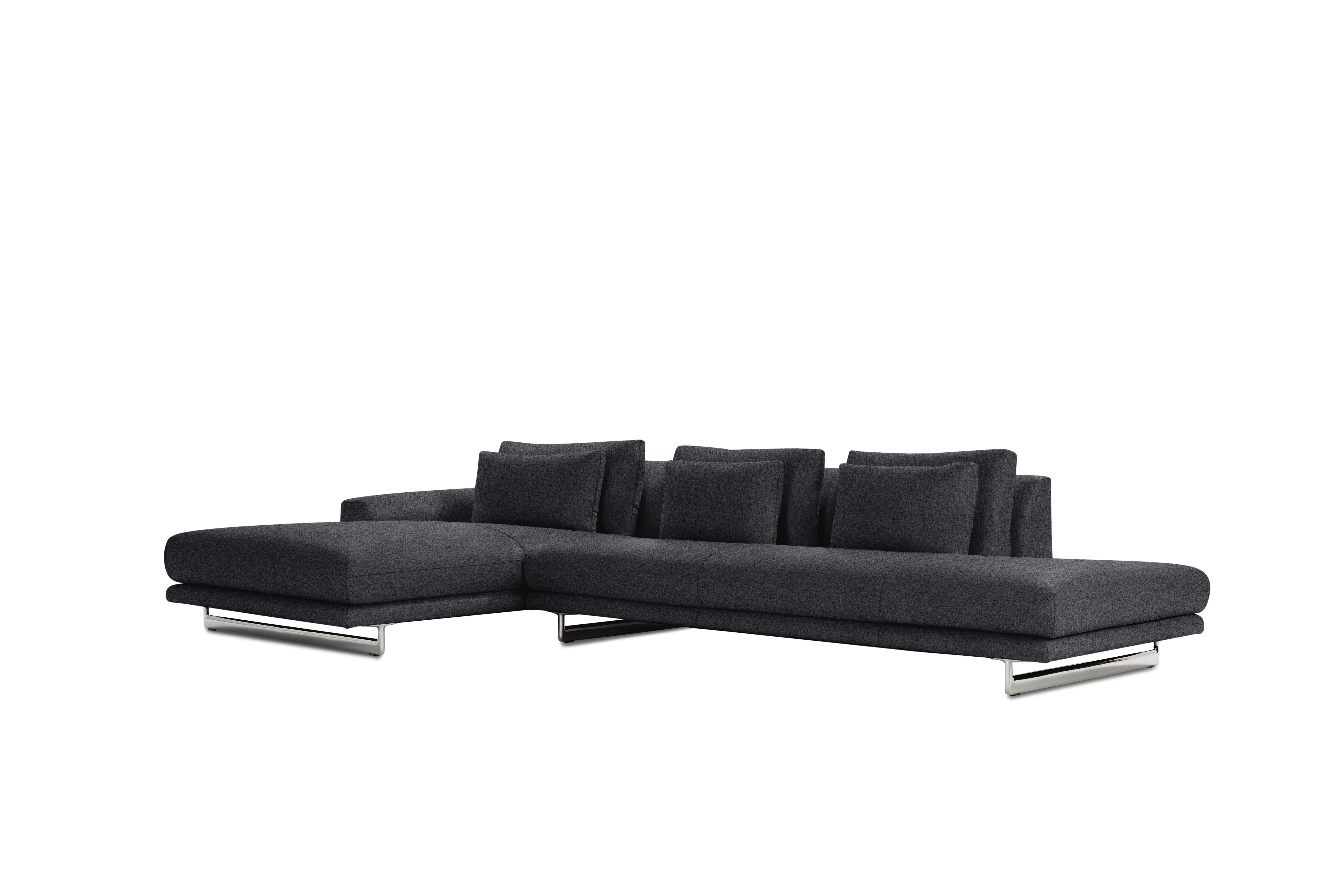 Lecco Sectional, Black by Design Within Reach