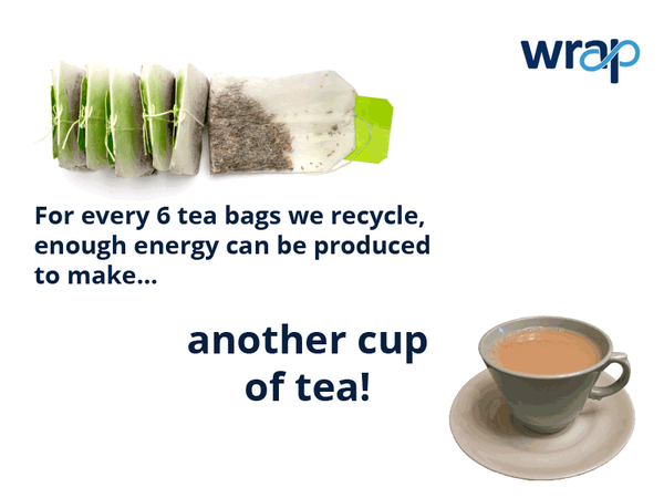 Here's a fun #recycling fact to enjoy with your morning cuppa #recycle