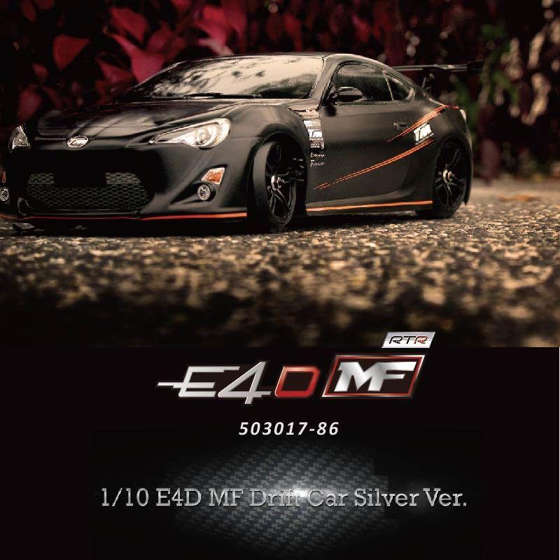 Team Magic E4d Mf Drift Car Silver Ver 1 10th 98 Complete Kit