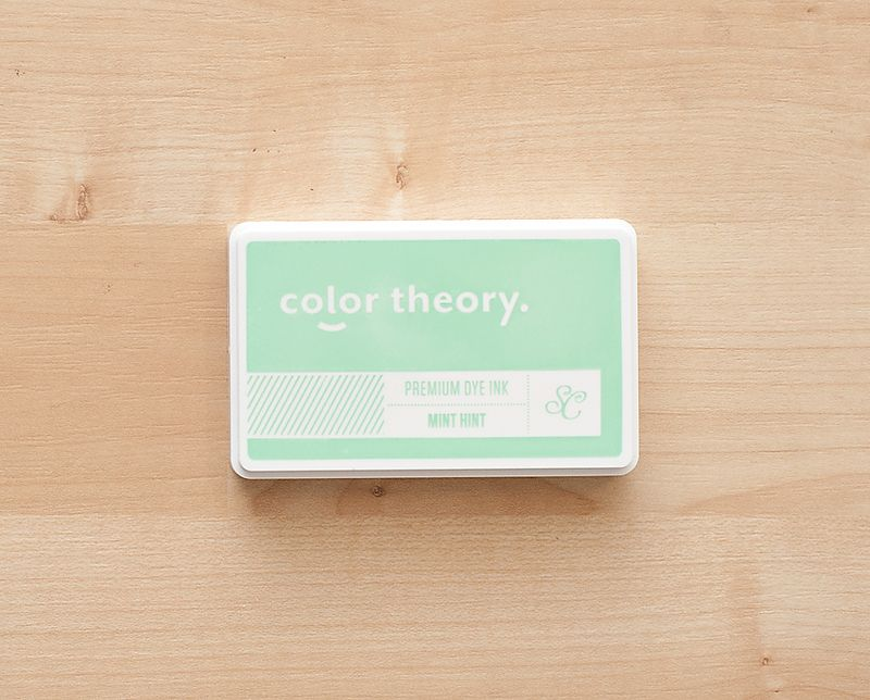 Color Theory Ink Pad : Mint Hint at @studio_calico