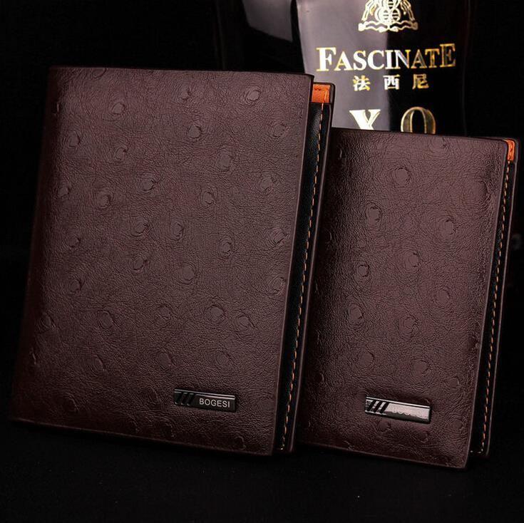 Elegante Cartera de Piel para Hombres;Stylish Leather Wallet for Men