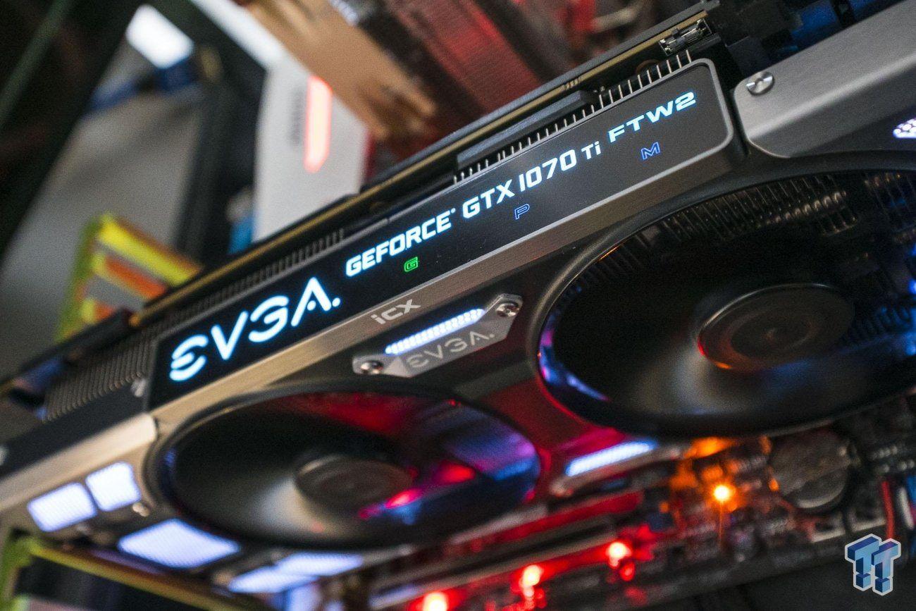 Nvidia Geforce Gtx 1070 Ti Roundup Evga Galax Msi Zotac Nvidia Galax Graphic Card