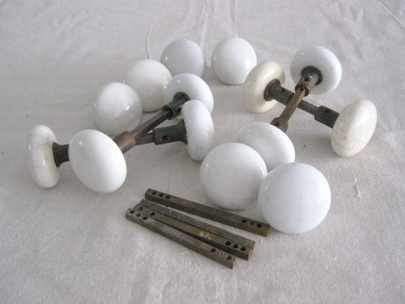 antique porcelain door knobs Locks Keys Door Knobs Pinterest