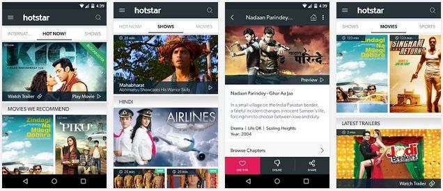 Free Download HotStar App for Widows (8.1/8/7/XP) PC and