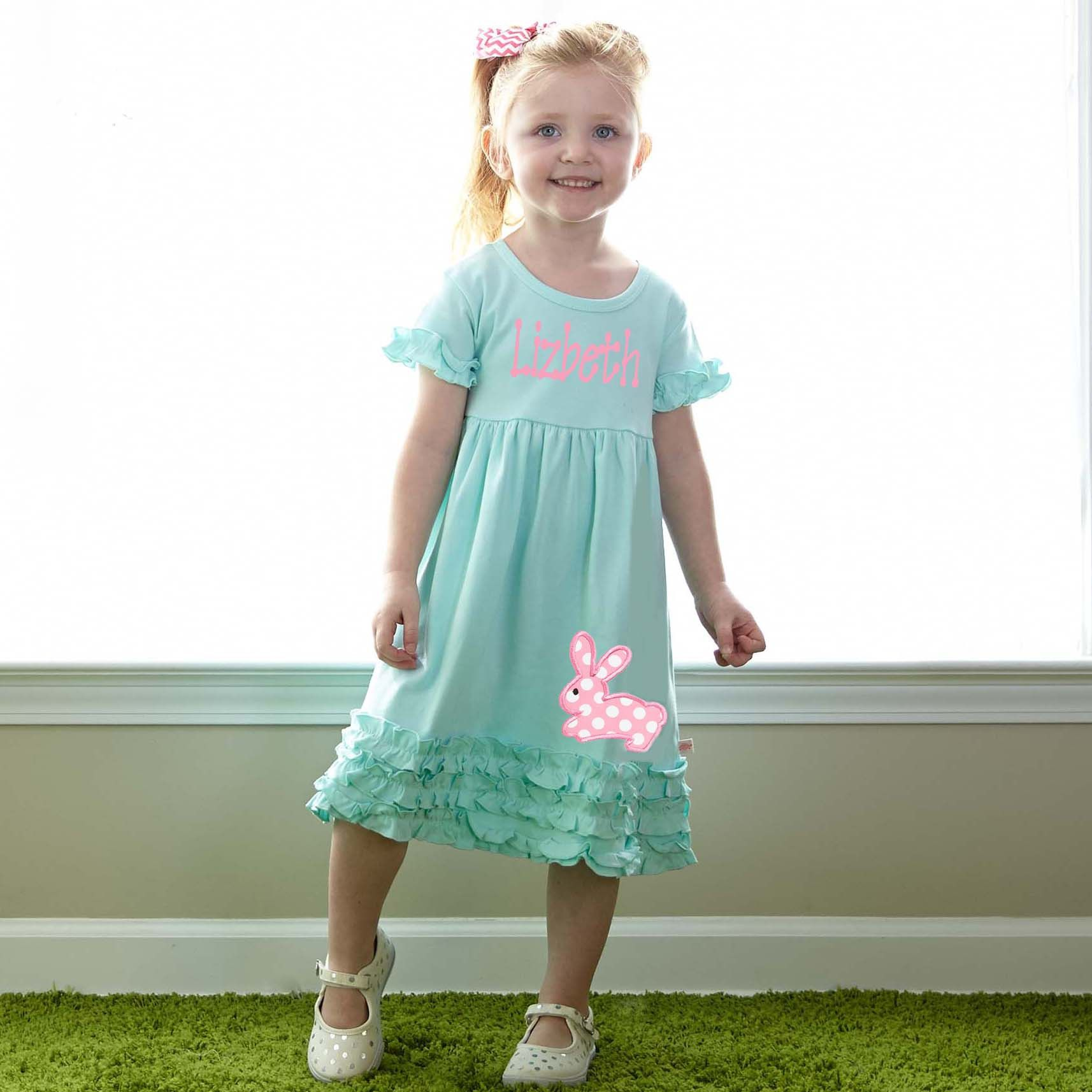 Love this Tiffany Squinchy Cotton Dress