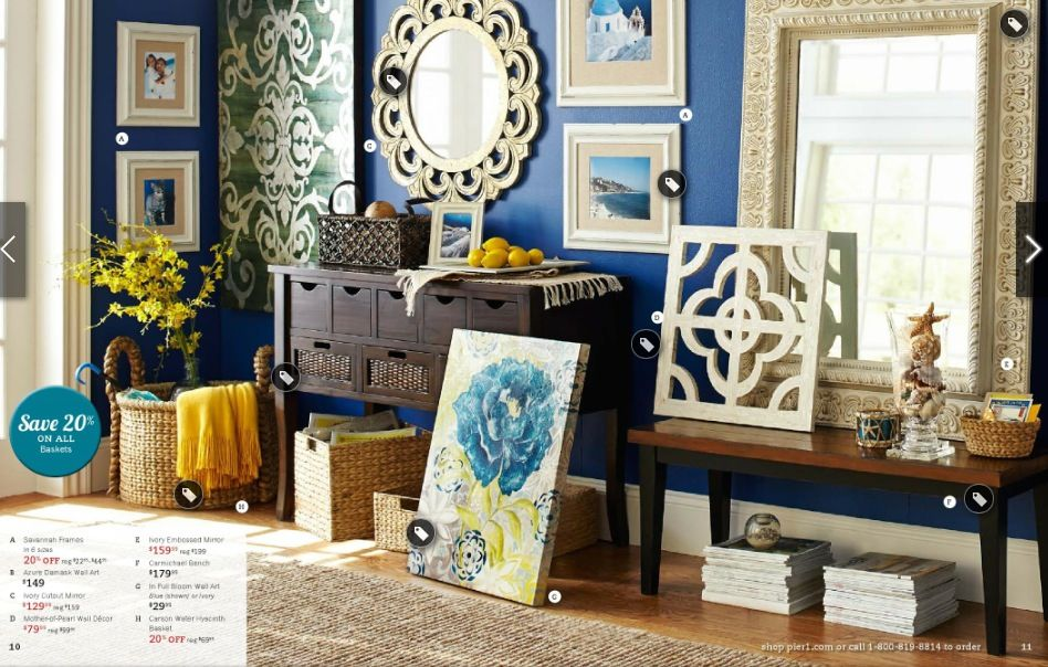 Decorating ideas from Pier One | Elegant home decor, Home ...