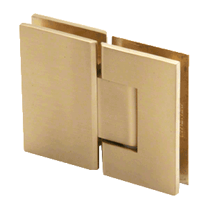 Crl Gen180sb Satin Brass Geneva 180 Series 180 Degree Glass To Glass Standard Hinge Satin Brass Shower Door Hardware Hinges