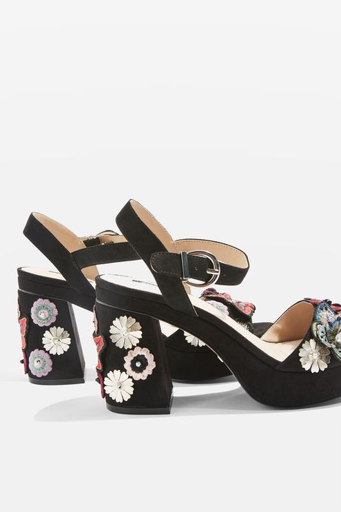 45e3f8e1cf86 LANEY Embellished Platform Sandals - Topshop USA