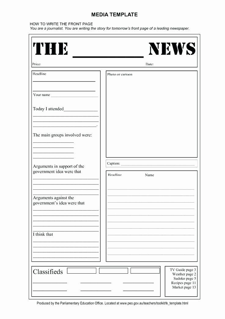 Free Editable Newsletter Templates New Free Editable Newsletter Templates For Word Newspaper Template Newspaper Article Template Editable Newsletter Templates