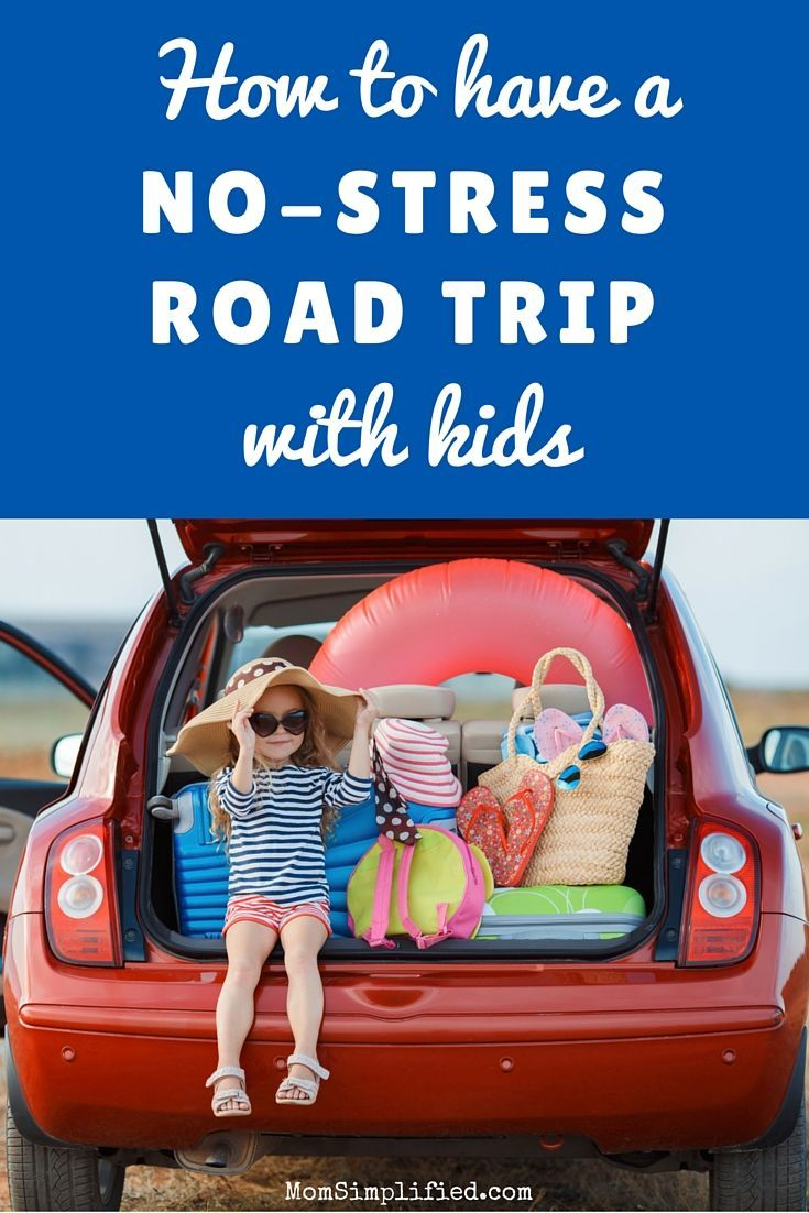 Here's the key ingredient to a stress-free road trip with kids.