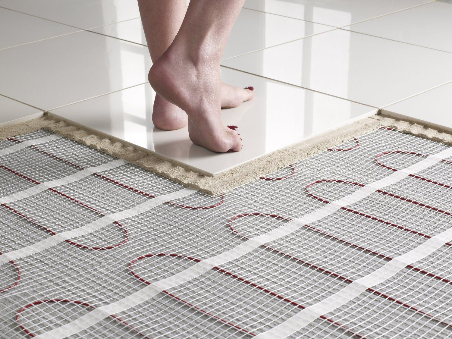 Heated Flooring Is A Must In A Luxury Bathroom Underfloor Heating Advantages And Disadvantages In 2020 Heated Floors Radiant Floor Heating Radiant Floor