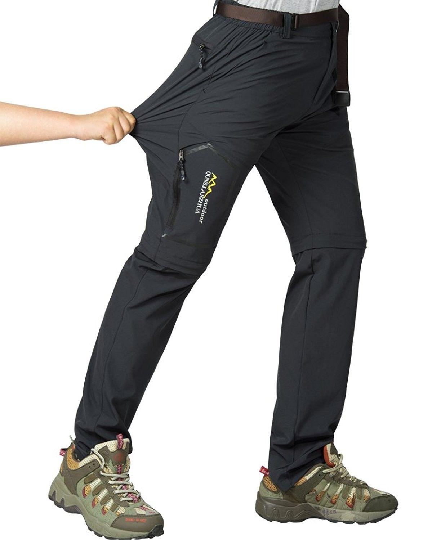 Women's Outdoor Quick Dry Convertible Hiking Stretch Cargo Pants 5818 -  Dark Grey - CE189TSIIZY | Best hiking pants, Hiking pants women, Hiking  outfit women