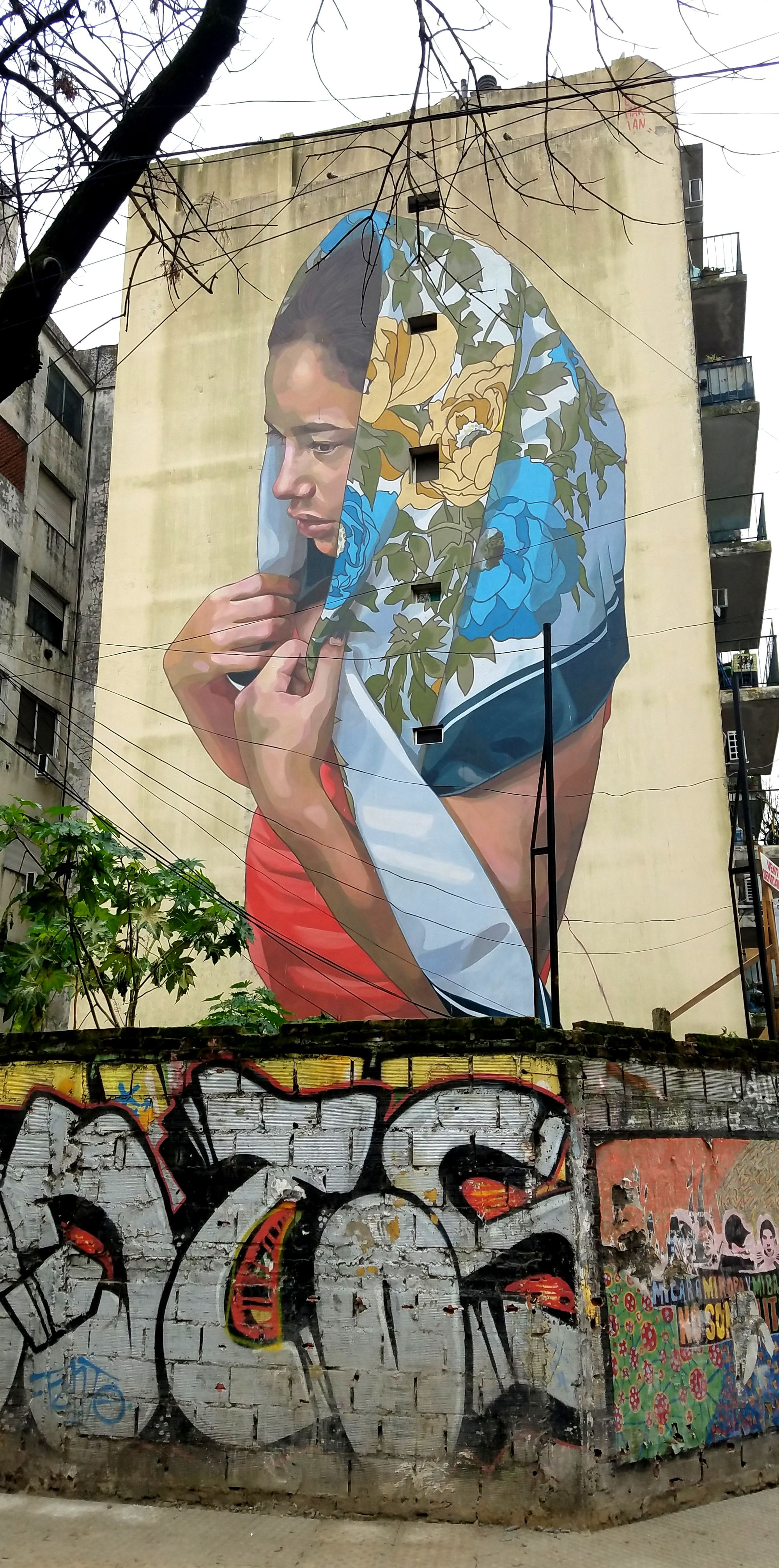 Buenos Aires Argentina Street Art Graffiti This Is From The Tango District
