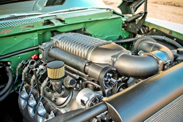 1959 Buick Electra with a Supercharged LSx V8 – Engine Swap