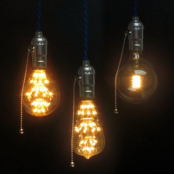 Hanging Lamp Led: LED Edison Bulb Pendant Light