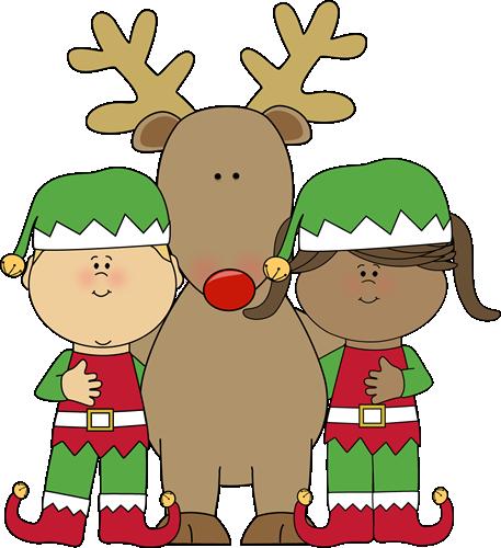 Lutins et renne  Nol  Pinterest  Elves Christmas hat and