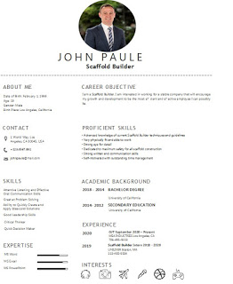 Best Scaffold Builder Resume Examples And Template Skills Resume Examples Resume Administrative Assistant Resume