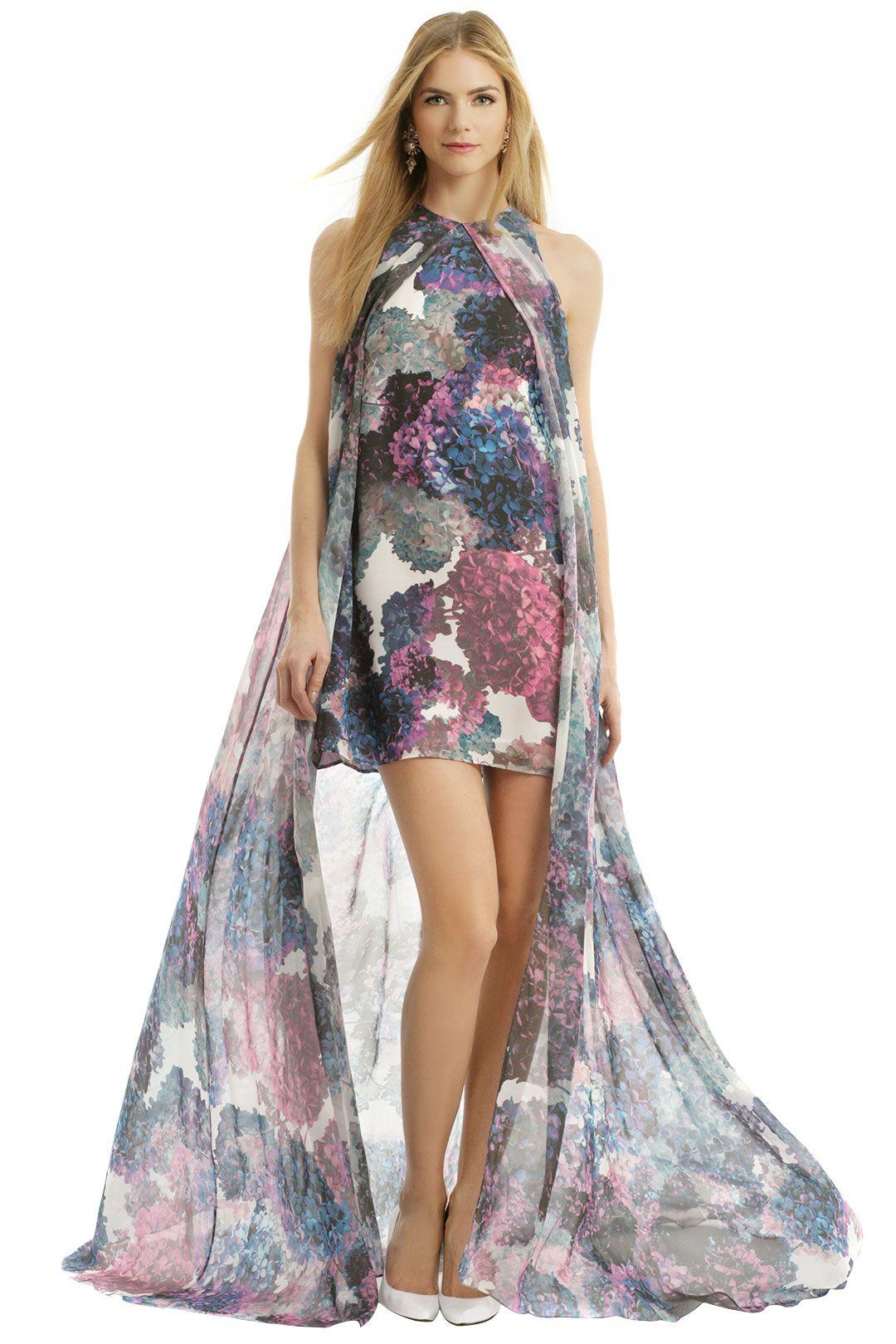 Floral maxi dress wedding  Considering this for beach wedding nha khanh Hydrangea Dream Maxi