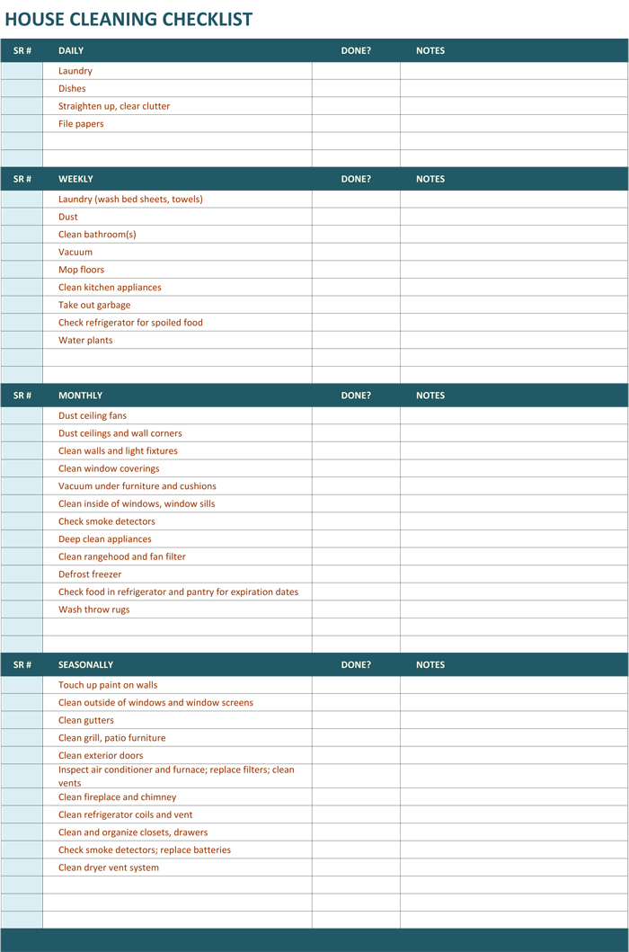Use This Free Printable House Cleaning Schedule A Customizable And Ready To Use House Cleaning Checklist Template House Cleaning Checklist Cleaning Checklist