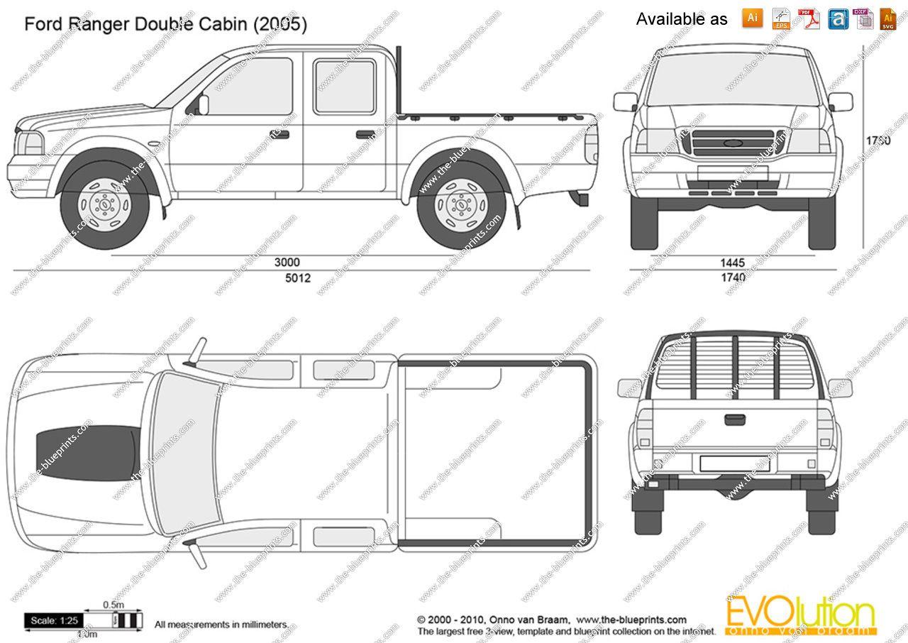 Image Result For Ford Ranger Blueprints Carros