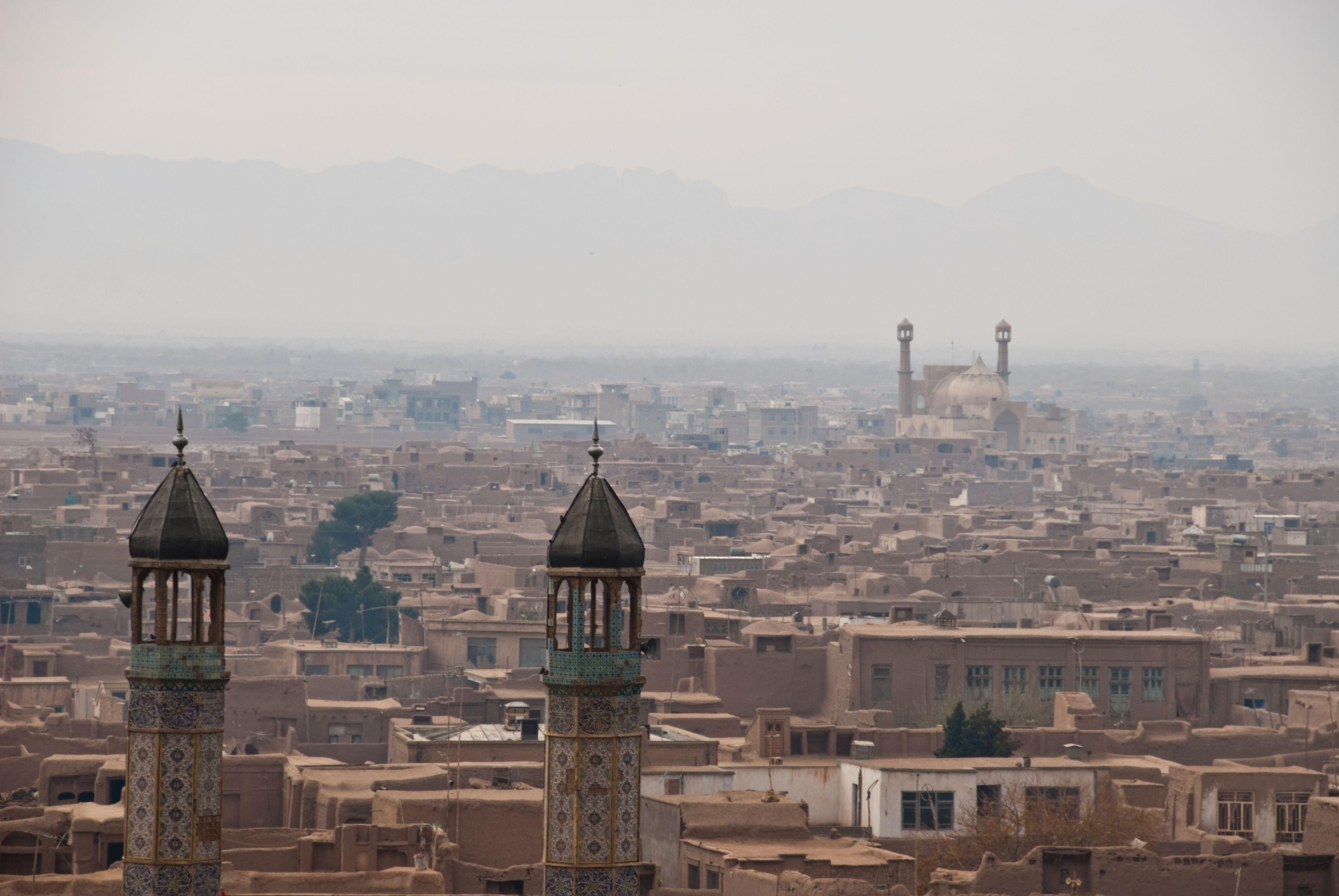 Skyline Of Herat Afghanistan