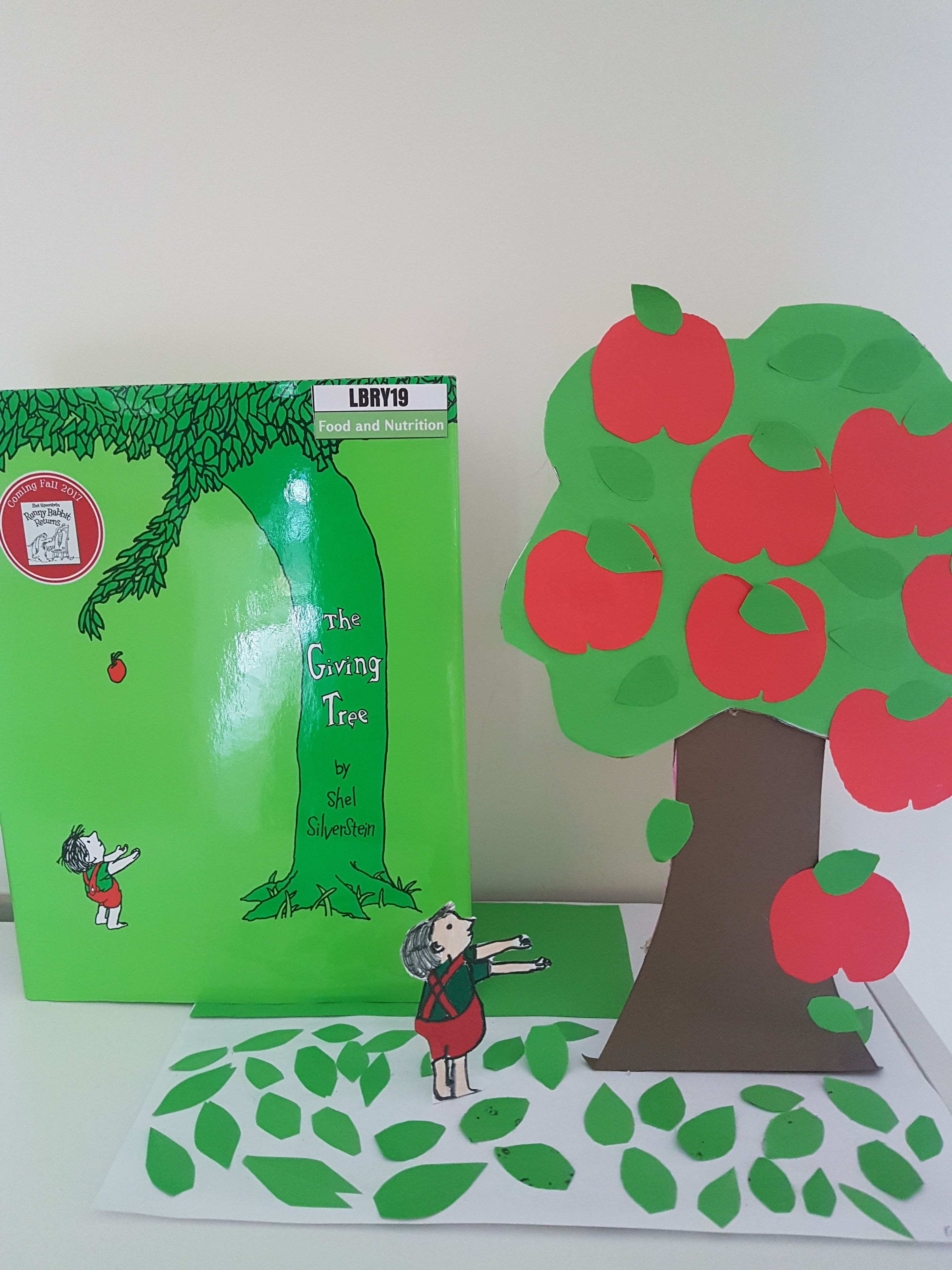 Group Craft Project Based On The Book The Giving Tree