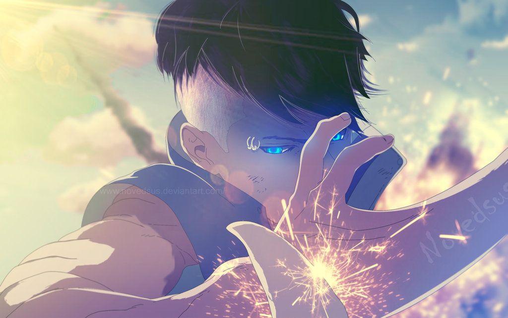 Misantropo Singular By Novedsus Anime Naruto Art Boruto