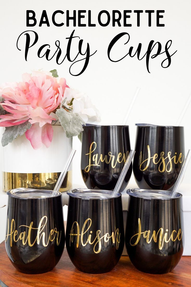 SWIG Wine Tumblers with Straws -  We've got you covered with the perfect bachelorette party favors! The bride and bridesmaids will  - #BachelorParties #BachelorettePartyGames #BachelorettePartyideas #straws #SWIG #tumblers #Wine