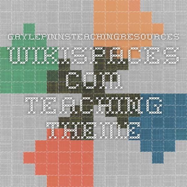 gaylepinnsteachingresources.wikispaces.com-Teaching Theme