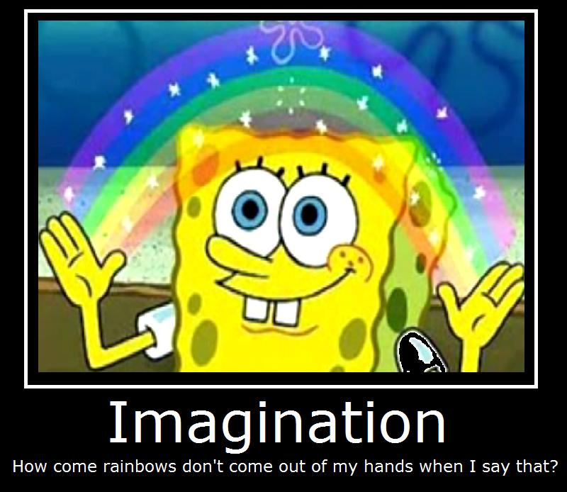 Spongebob Imagination Meme Funny : Spomgebob imagination spongebob by