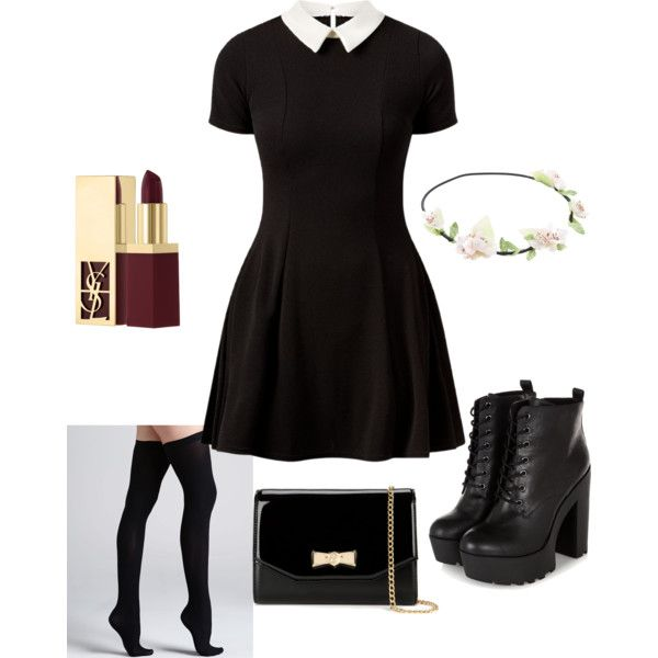 A fashion look from January 2015 featuring Cameo Rose dresses, Commando hosiery and Ted Baker clutches. Browse and shop related looks.