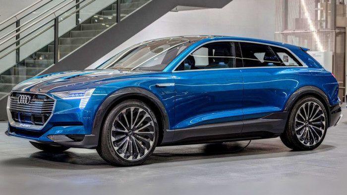 Первый электрический кроссовер Audi получит имя E-Tron