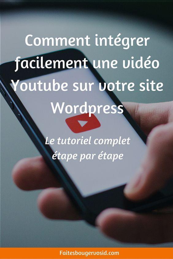 Le tutoriel complet, étape par étape, pour ajouter une vidéo Youtube à votre site internet WordPress
