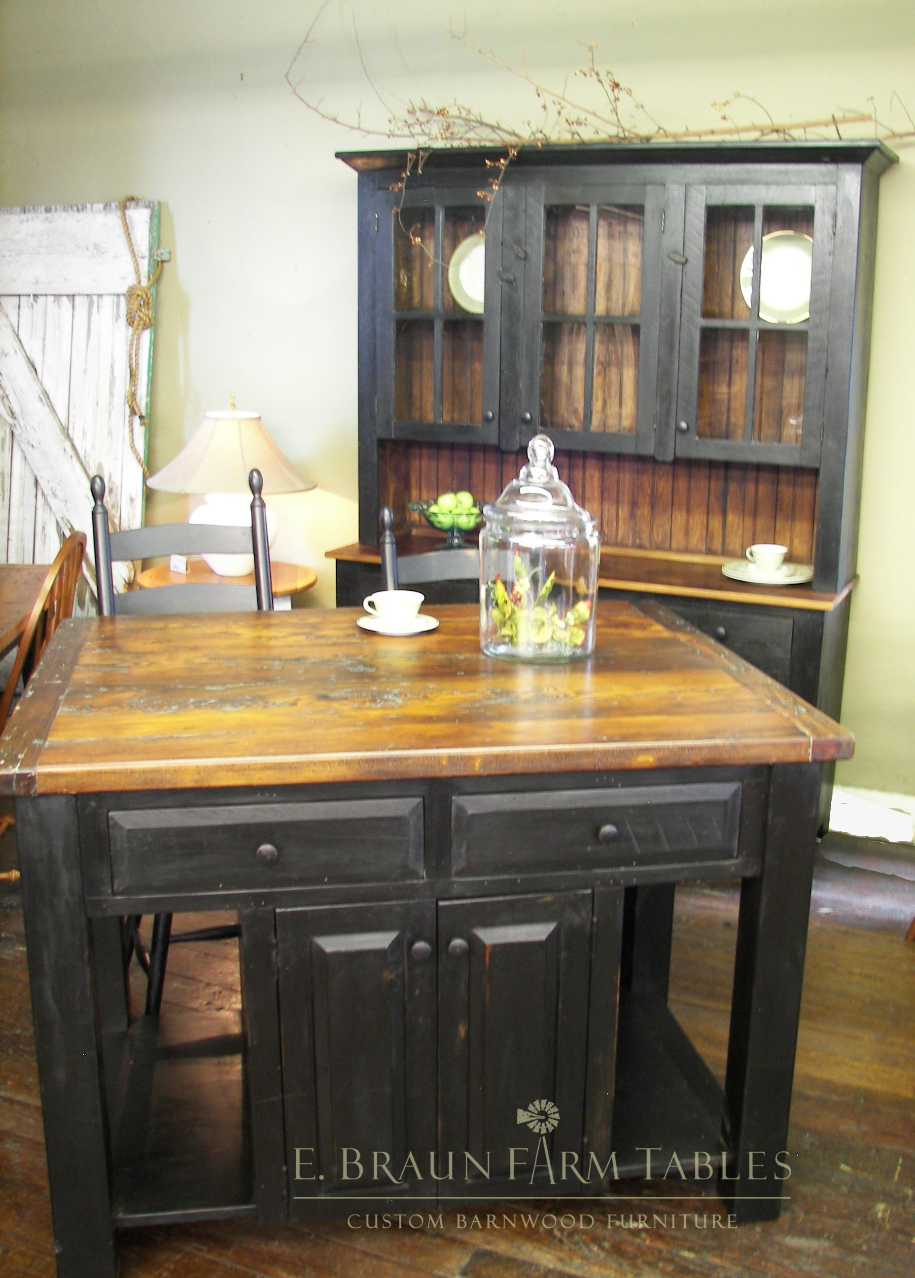 ... E. Braun Farm Tables And Furniture   We Custom Make Furniture For All  Rooms Of The Home Using 100+ Year Old Authentic Reclaimed Barn Wood.  Showroom ...