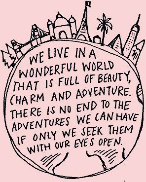 Photo of Life is for Adventure.